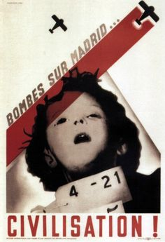 Bombs over Madrid...or Civilization!, 1938