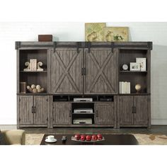 Storehouse Collection Entertainment Wall Unit By Legends Furniture