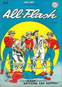 All-Flash Quarterly 30 - All Flash - Aug -sept - No 30 - A New Flash Adventure - Anything Can Happen