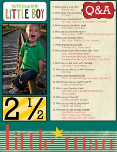 26 Ways To Preserve Your Kids' Memories Forever Because your kids will be grown before you (and they) know it. You can interview them at the end of the year, too. Birthday Interview, School Interview, Family Memories, Baby Memories, Childhood Memories, Making Memories, Memory Books, Little Man, In Kindergarten