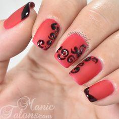 Matte and Gloss Nail Art with BMC Gel Polish