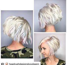 7 Fantastiche Immagini Su Tagli Particolari Short Haircuts Colors