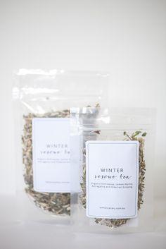 winter rescue organic tea for immune strength