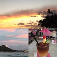 Definitely in need of brain rejuvenation via Mai Tais! Today's topics included Women's role in Peace and Security the Theory of Climate Change and Disaster response in Oceania. Particularly appropriate given my portfolio. #tiredbrain #waikiki #hawaii #sunsets