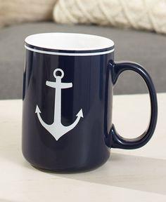 Sailor Mug Nautical Coffee Cup Sea Ocean Lover Captain Cruise Ship Vacation Gift