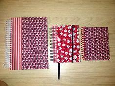 Cadernos e agenda by Tania Ishii