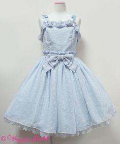 Angelic Pretty クラシカルホイップドットジャンパースカート
