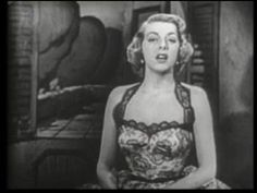 """▶ Rosemary Clooney sings """"Half As Much"""" & """"Botch-A-Me"""" - YouTube"""