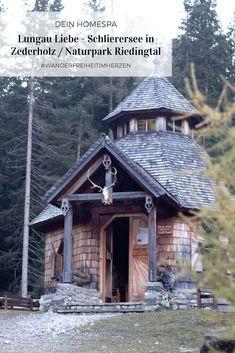 Lungau- Zederholz-Hubertuskapelle- Schlierersee Men Abs, Salzburg, Park, Skiing, House Styles, Hiking, Running, Fall, Vacation