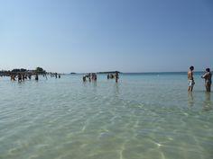 Porto Cesareo, Puglia Italia (Luglio)