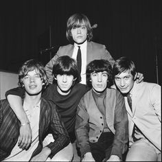Rolling Stones during rehearsals for a London concert, 1965 Brian Jones Rolling Stones, The Rolling Stones, Bob Dylan, Rollin Stones, Bill Wyman, Charlie Watts, Robert Plant, Keith Richards, Mick Jagger