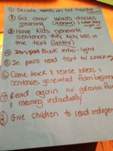 Different small group reading ideas