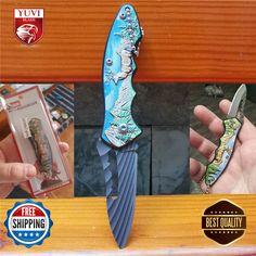China Hong Kong, Outdoor Knife, Folding Pocket Knife, Retro, Mini, Ebay, Retro Illustration