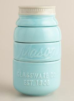 Mason Jar Measuring Cups, just $12.99 from World Market.