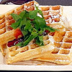 Classic Belgian Waffles Recipe-tried these this morning & the boys loved them!