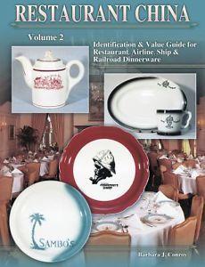 Restaurant China Identification Value Guide for Restaurant Airline SHIP 157432148X | eBay