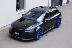 Cartech Audi RS6 mit Vossen Wheels VPS 310-t