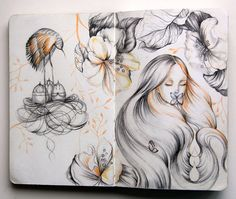Silence by Marjolein Caljouw, via Behance