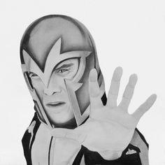 Magneto – Michael Fassbender. X-Men First Class.