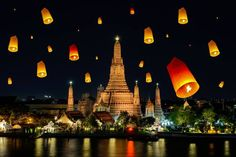 Loi Krathong in Bangkok! A must for every traveler!