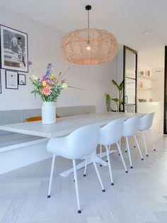 Home Decor Kitchen, Home Kitchens, Home Living Room, Living Room Decor, Home Interior Design, Interior Decorating, Scandinavian Living, Küchen Design, Decoration