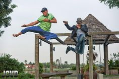 Tony jaa And Van Damme To Team Up