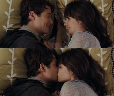 (500) days of summer: totally in love with both joseph gordon-levitt and zooey deschanel