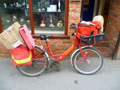 English mailman's bike.
