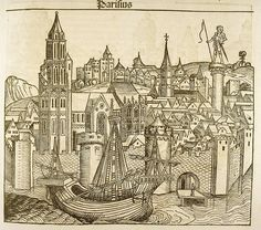 Parisius [Paris] (from the Nuremberg Chronicle) 1493