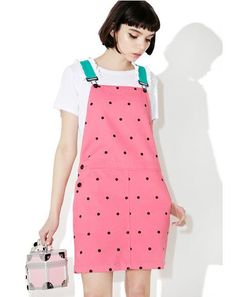 Watermelon Dungaree Dress