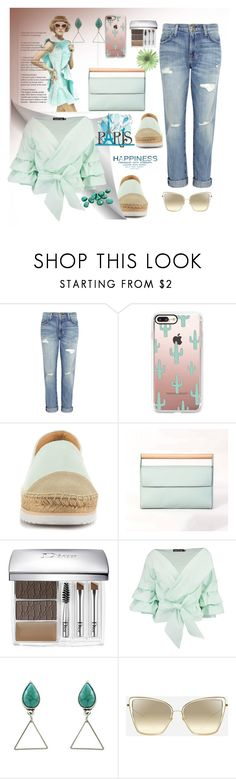 """Untitled #836"" by pesanjsp ❤ liked on Polyvore featuring Current/Elliott, Casetify, Kensie, Meraki, Christian Dior and Boohoo"