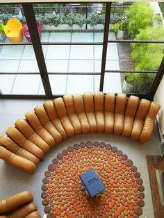 Sofá Con Forma De Teclado Qwerty Diseñado Por ZO_loft | Ambientes  Espectaculares | Pinterest | Sofas