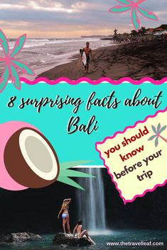 8 surprising facts about Bali, Indonesia you should know before your trip. Find ideas on the best things to do in Bali, facts about Bali black sand beaches, Bali temples, peoples names in Bali and how to act in the Bali traffic. #bali #indonesia