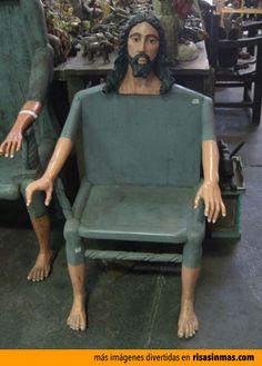 Definición gráfica: Sentarse junto a Dios.
