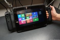Razer Edge - gaming tablet. Turn your Windows 8 tablet into a gaming handheld.