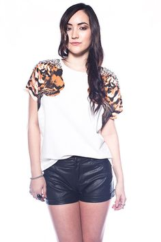 Tiger Face Off Blouse - I WANT!