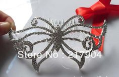 wholesale New Arrival Small Charming Butterfly Jewelry Tiara Romantic Wedding Accessory Bridal Tiara Crown free shipping-in Hair Jewelry from Jewelry on Aliexpress.com