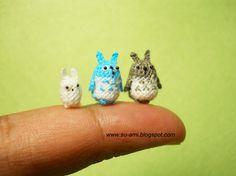 Totoros amigurumi by suami on etsy $65