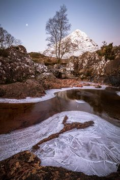 Glencoe chilled, Scotland.