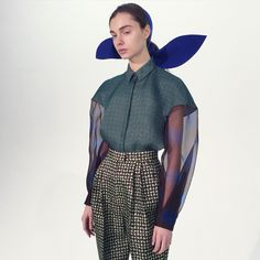 New York Fashion Week Fall 2015: Backstage Pass - Backstage at Delpozo Fall 2015