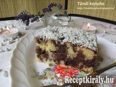 Kakaós-kókuszos fakanalas sütemény