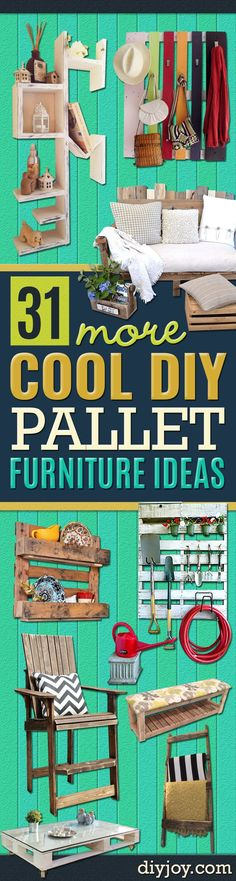 15 Ideas Wooden Pallet Furniture Home Decor Diy Projects