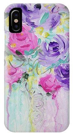#phonecase #phonecaseart #phonecaseforsale #iphonex #android #flowers #flowerart #flowerpainting #floral #floralabstract #artforsale #macongeorgiaartist #tfrygreen #tfrygreenart  #originalpainting #originalart #artlovers #loveart