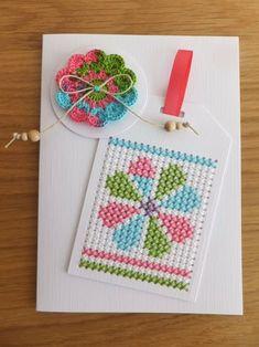 Cross Stitch House, Mini Cross Stitch, Cross Stitch Needles, Cross Stitch Fabric, Simple Cross Stitch, Cross Stitching, Cross Stitch Embroidery, Cross Stitch Patterns, Cross Stitch Bookmarks