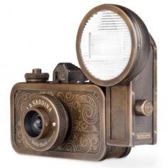 La Sardina Lomo camera made of a sardine can.  Love it!