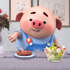 Pigs Eating, Mini Pig, Cute Pigs, Little Pigs, Our Body, Hello Kitty, Pork, Earth, Wallpaper
