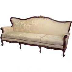 Creations DIMITRI Fine Furniture manufacturer since 1964 Wooden Sofa Designs, Sofa Set Designs, Victorian Sofa, Victorian Furniture, Wood Sofa Table, Sofa Chair, Modern Luxury Bedroom, Luxurious Bedrooms, Dark Living Rooms