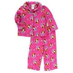 4f21200dd8 Sofia the First Toddler Pink Flannel Pajamas (2T) Disney http   www