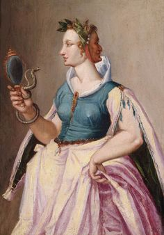 Peter Candid - Allegory of Vanity, Oil on panel