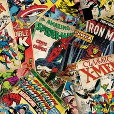Marvel Comic Wallpaper by Graham & Brown
